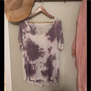 American Eagle  Soft & Sexy tie-dyed top